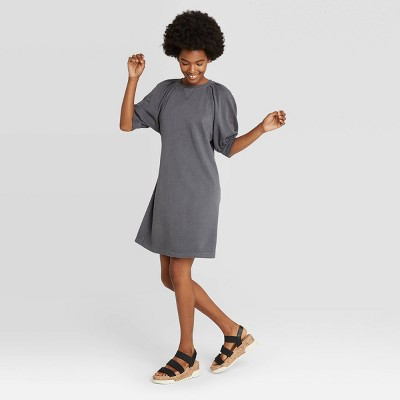 Women's Puff Short Sleeve T-Shirt Dress - Universal Thread™