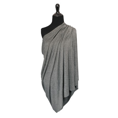 GO By Goldbug 5-In-1 Multi Use Cover And Nursing Scarf Grey