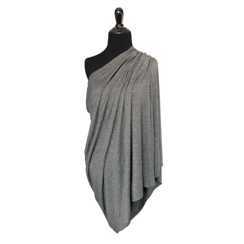 0cc65b177187a9 GO By Goldbug 4-in-1 Nursing Scarf - Gray   Target