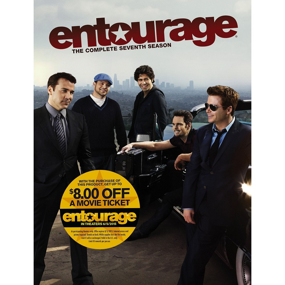 Entourage: The Complete Seventh Season [2 Discs]