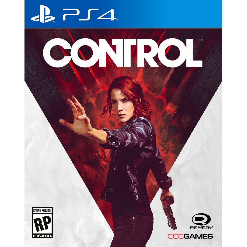 Control - PlayStation 4, video games