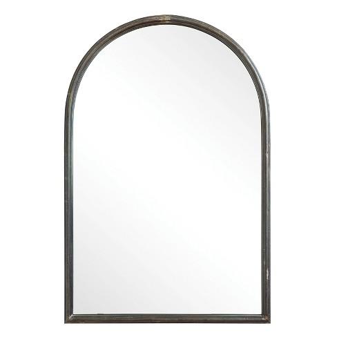 "36"" x 24"" Decorative Wall Mirror Gray - 3R Studios - image 1 of 3"
