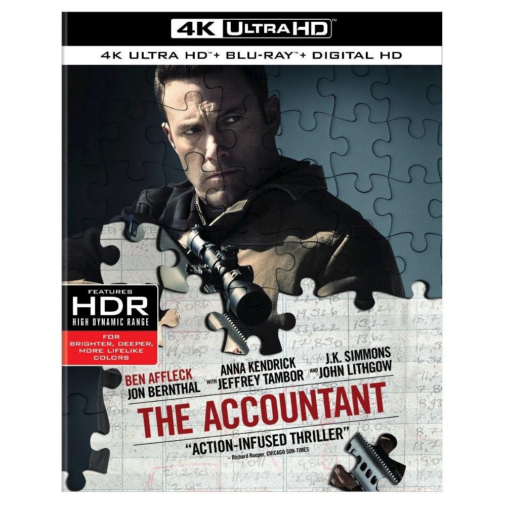 The Accountant (4K/Uhd + Digital)