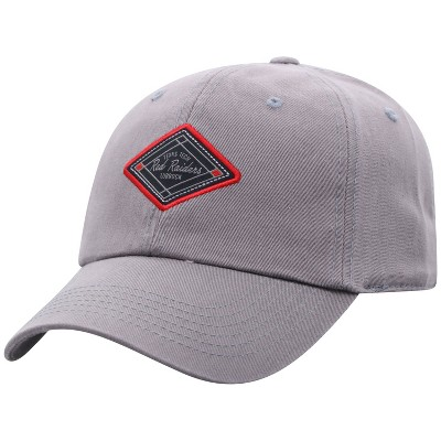 NCAA Texas Tech Red Raiders Men's Gray Washed Relaxed Fit Hat