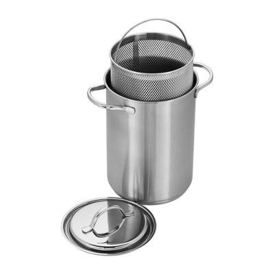 Demeyere Resto 4.8-qt Stainless Steel Asparagus/Pasta Cooker Set