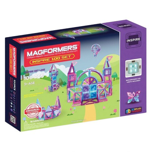 Magformers Inspire 100 PC Set - image 1 of 4
