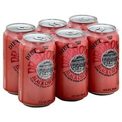 Dr. Brown's Soda Diet Black Cherry 6 pack 72 Fl Oz