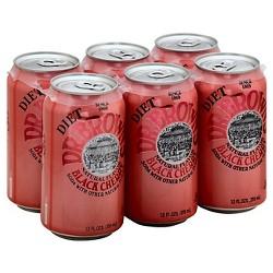 Dr. Brown's Soda Diet Black Cherry 6 pack 72 Fl Oz