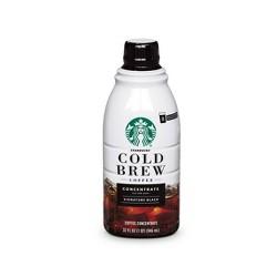 Starbucks Cold Brew Concentrate Black - 32oz