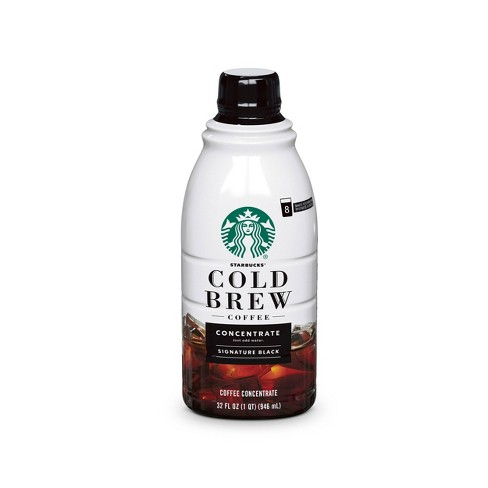 Starbucks Cold Brew Concentrate Black - 32oz - image 1 of 4