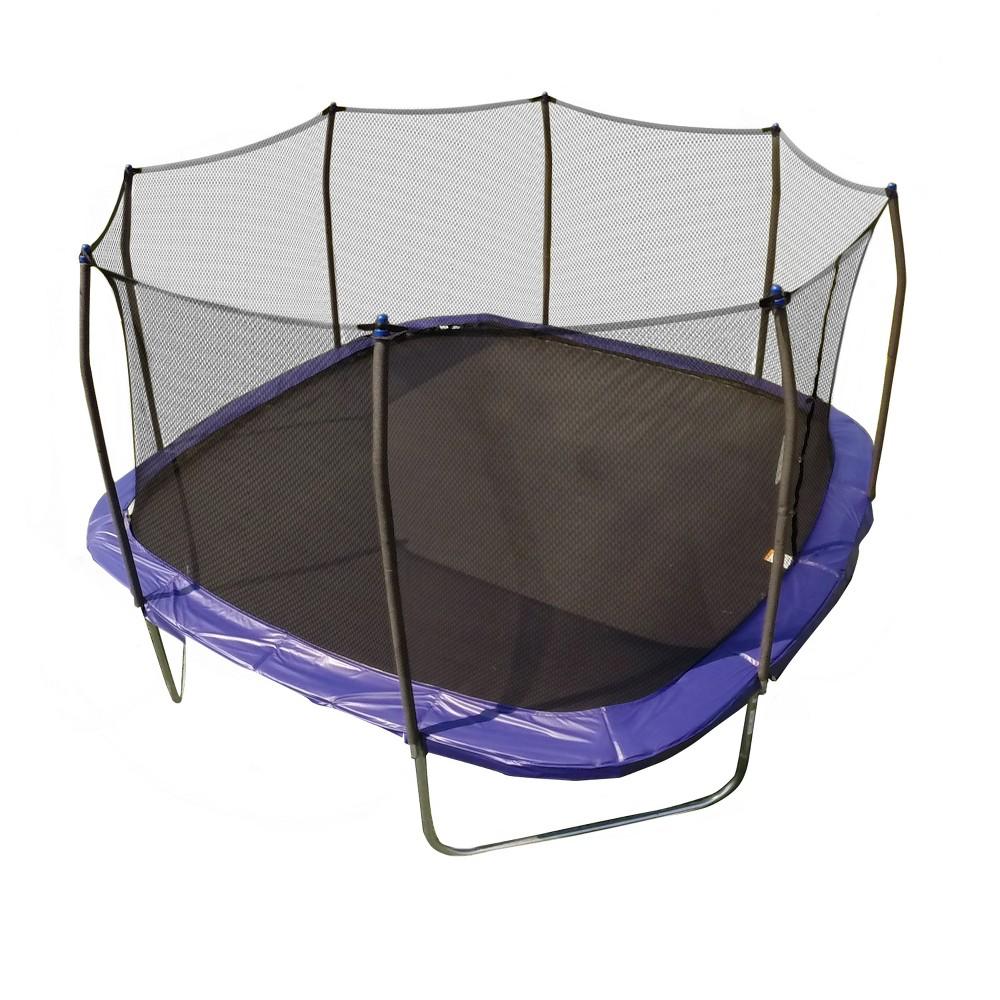 Skywalker Trampolines 13' Square Trampoline with Enclosure - Blue