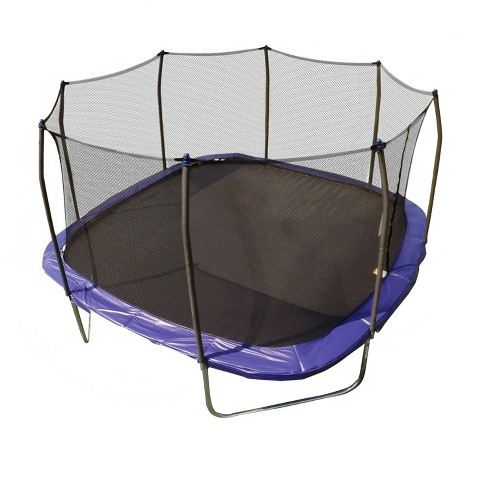 Skywalker Trampolines 13' Square Trampoline with Enclosure - Blue - image 1 of 11