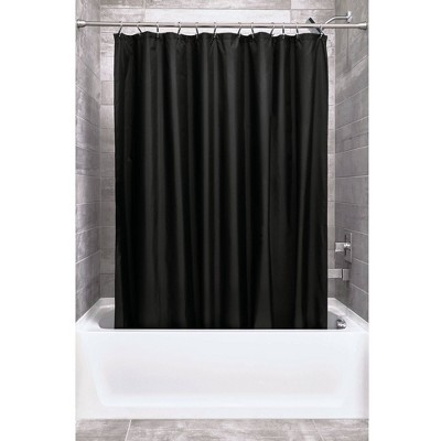 Set of 2 Shower Curtain Liners Black - iDESIGN