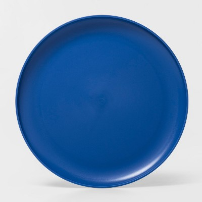 10.5  Plastic Dinner Plate Blue - Room Essentials™