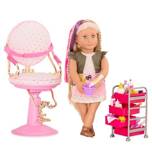 Our Generation Deluxe Hairplay Set with Pia Doll - image 1 of 3