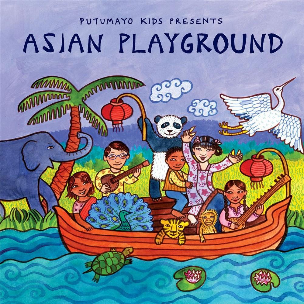 Putumayo Presents - Putumayo Kids Presents:Asian Playgrou (CD)