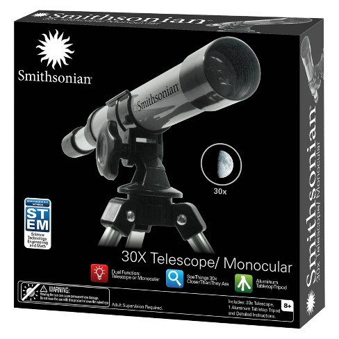 Smithsonian 30X Telescope/ Monocular Kit - image 1 of 3