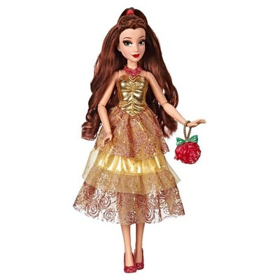 Disney Princess Style Series - Belle Doll in Contemporary Style with Purse & Shoes
