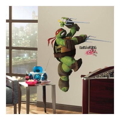 Teenage Mutant Ninja Turtles Ralph Peel and Stick Giant Wall Decal - RoomMates
