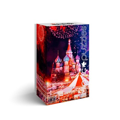 blanc Moscow Fireworks Jigsaw Puzzle - 300pc