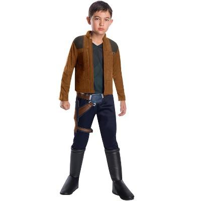 Star Wars Solo Movie Han Solo Deluxe Child Costume
