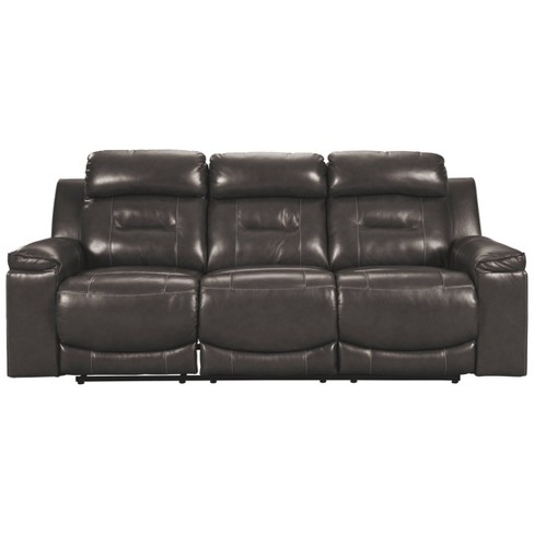 Magnificent Pomellato Power Reclining Sofa With Adjustable Headrest Gray Signature Design By Ashley Gmtry Best Dining Table And Chair Ideas Images Gmtryco