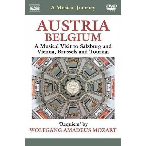 Musical Journey:Austria Belgium Music (DVD) - image 1 of 1