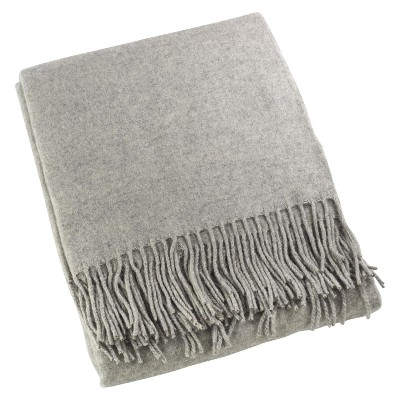 "Gray Classic Design Throw Blankets (50""x60"")- Saro Lifestyle"