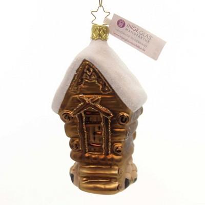 "Inge Glas 4.25"" Witch Haus Halloween Germany  -  Tree Ornaments"