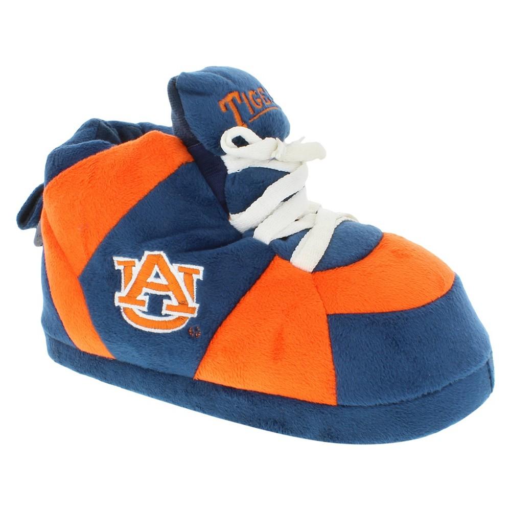 NCAA Auburn Tigers Adult Comfy Feet Sneaker Slippers - Blue/Orange Xxl, Adult Unisex, Multicolored