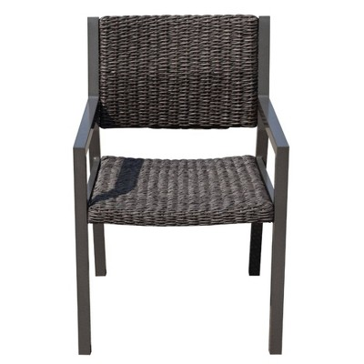 Venice 2pk Dining Chairs - Gray - Courtyard Casual