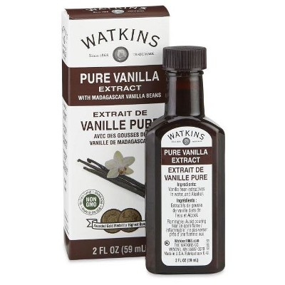 Watkins Pure Vanilla Extract with Madagascar Vanilla Beans 2oz
