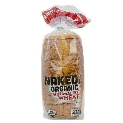 Franz Naked Organic Minimalist Wheat Bread - 22.5oz