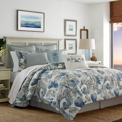 Raw Coast Duvet Cover Set Blue - Tommy Bahama