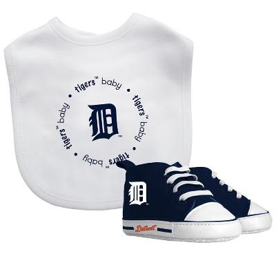 Detroit Tigers Bib & Prewalker Gift Set