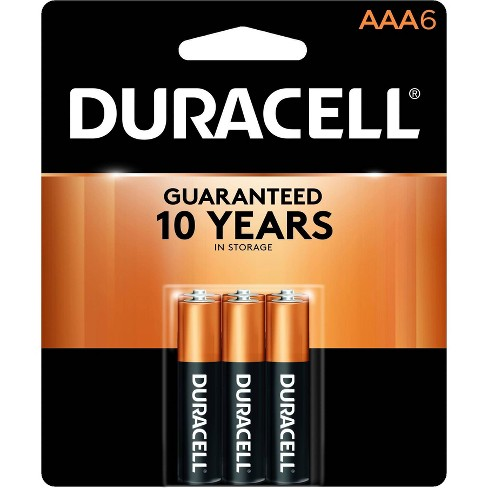 Duracell Coppertop AAA Batteries - 6 Pack Alkaline Battery - image 1 of 3