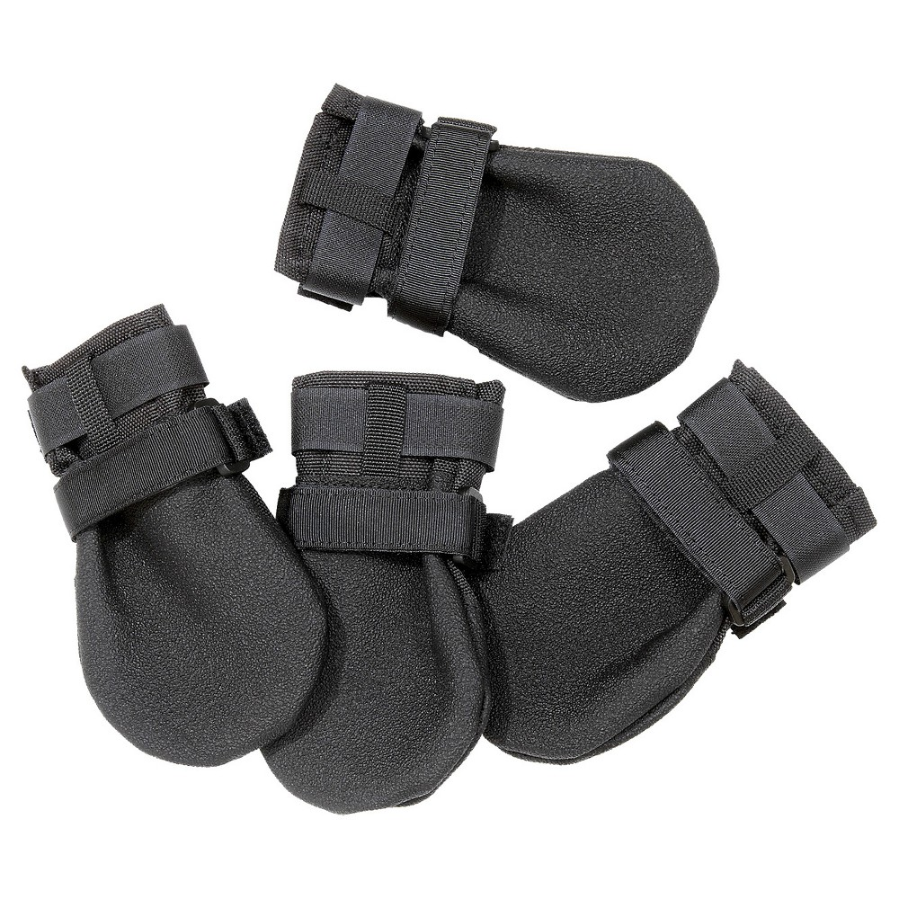 Ultra Paws Durable Dog Boots Black Xl