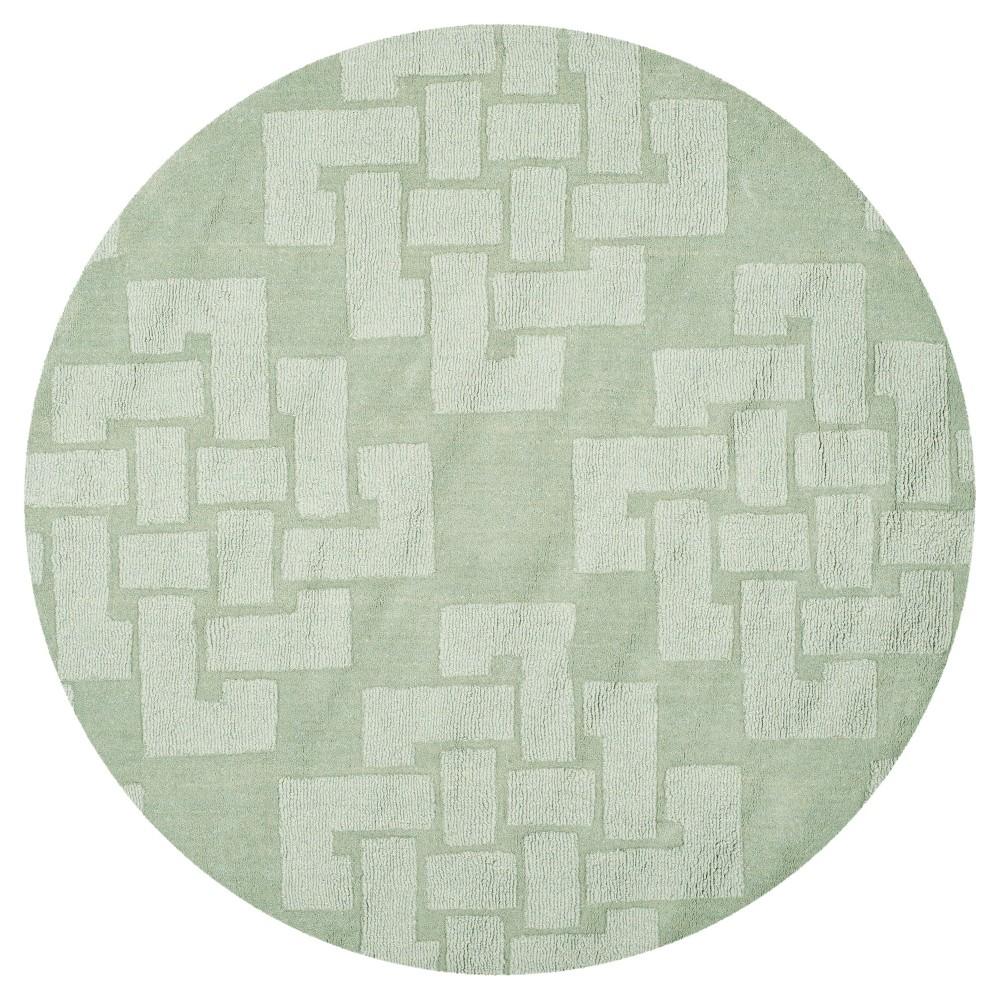 Image of Martha Stewart Rug - Sea Anemone (4'x4' Round) - Safavieh