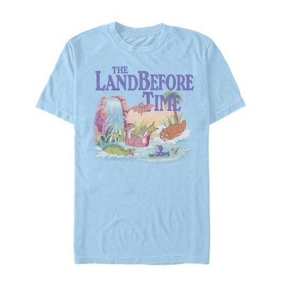 Men's The Land Before Time Dinosaur Summer Splash T-Shirt