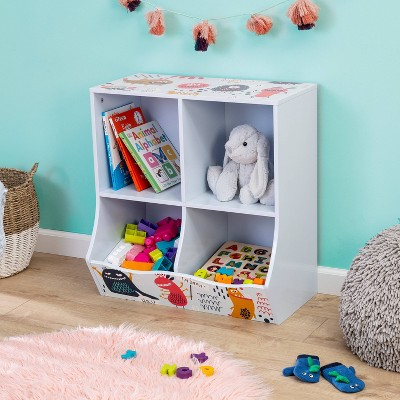 Honey-Can-Do Kids' 4 Cube Storage Caddy