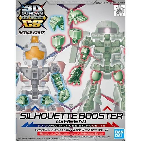 Bandai Hobby SDCS Gundam Cross Silhouette Booster Green SD Model Kit - image 1 of 3