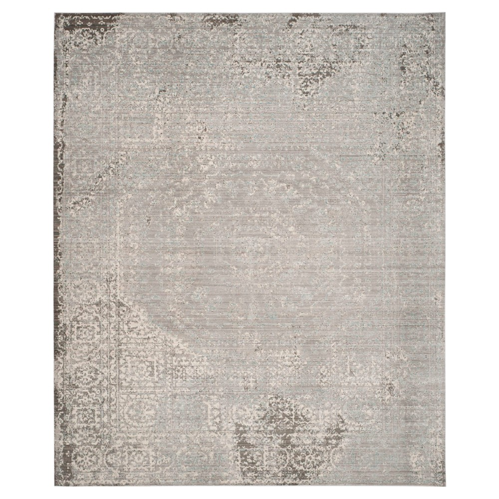 Valencia Rug - Gray- (8'x10') - Safavieh, Gray