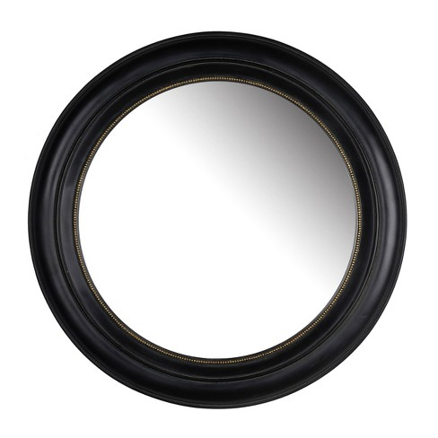 """20.5"""" Sable Round Mirror Black - A&B Home - image 1 of 1"""