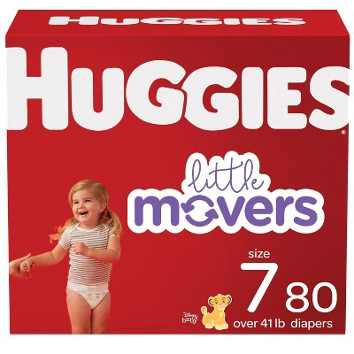 Huggies Little Movers Baby Disposable Diapers - (Select Size and Count)