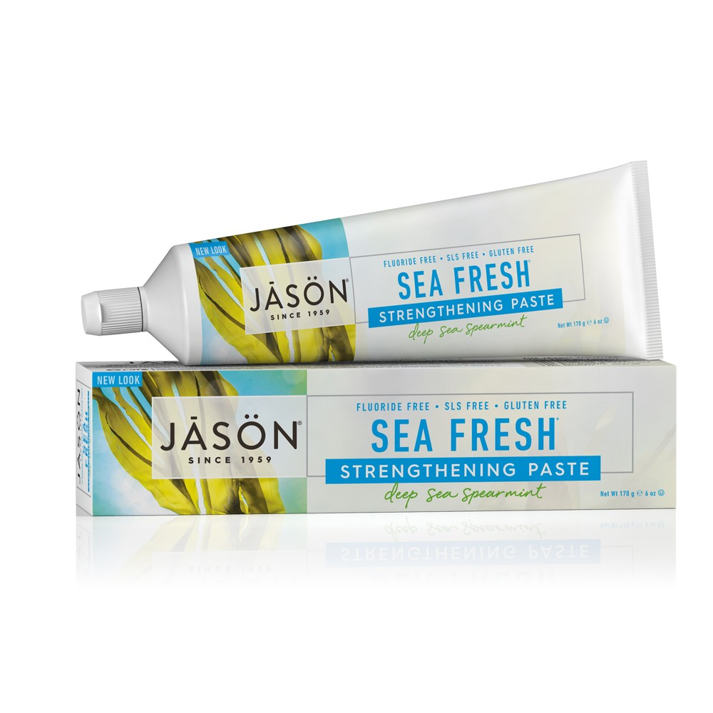 Jason Sea Fresh Deep Sea Spearmint Strengthening Toothpaste - 6oz