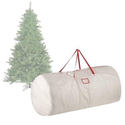 9u0027 Premium Holiday Christmas Tree Storage Bag White Large   Elf Stor