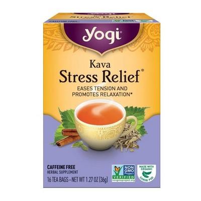 Yogi Tea - Kava Stress Relief Tea - 16ct