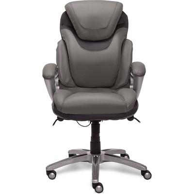 AIR Health and Wellness Executive Chair Gray Leather - Serta