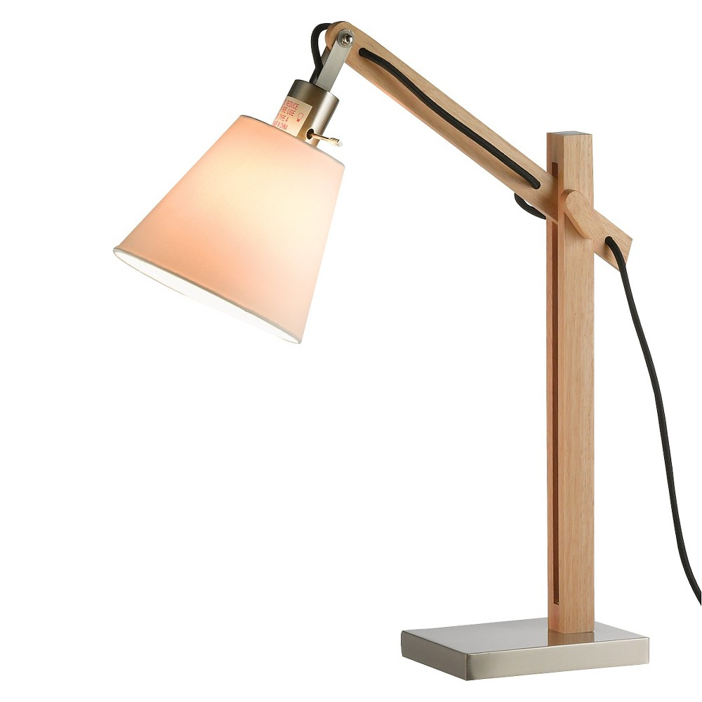 Image of Adesso Walden Table Lamp - Driftwood