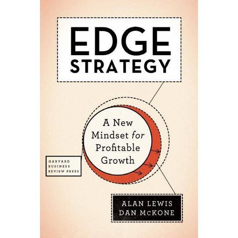 Edge Strategy - by  Alan Lewis & Dan McKone (Hardcover) - image 1 of 1